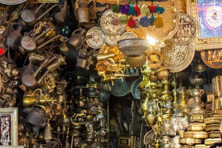 عکس خاطره بازی در بازارهای سنتی اصفهان