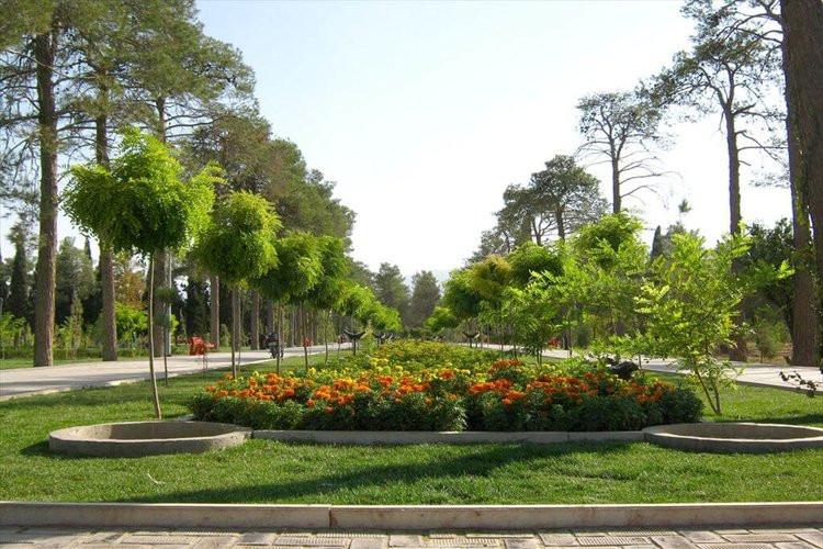 عکس گشتی در بهترین پارک های شیراز