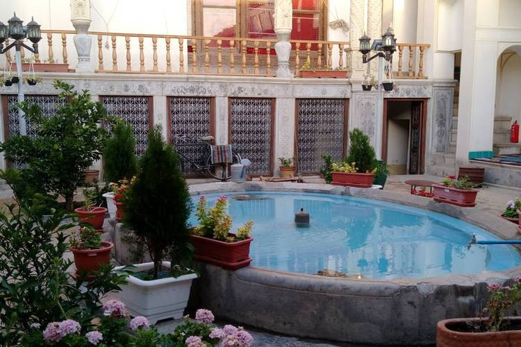 عکس اقامتگاه سنتی خان نشین اصفهان