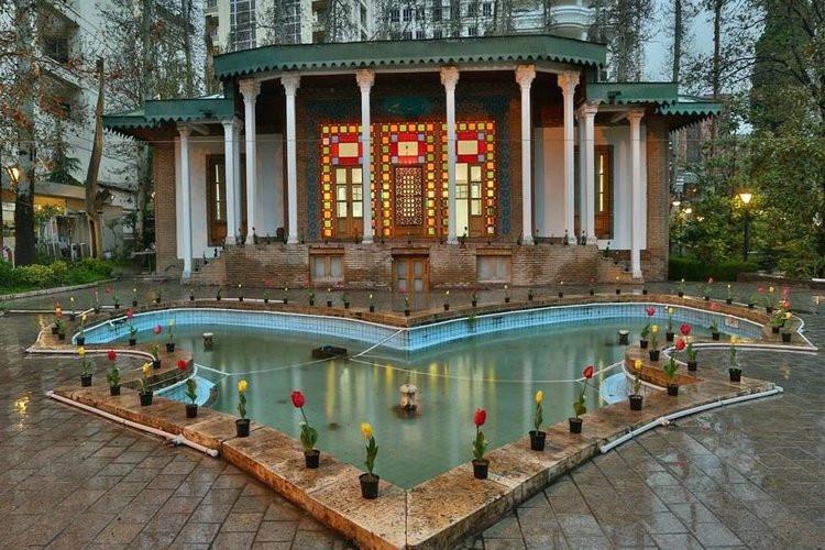 عکس باغ موزه هنر ایرانی