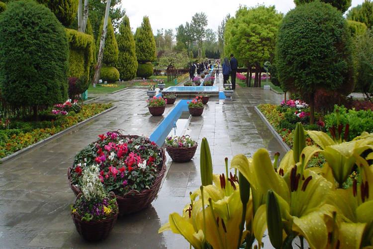 عکس باغ گل ها اصفهان