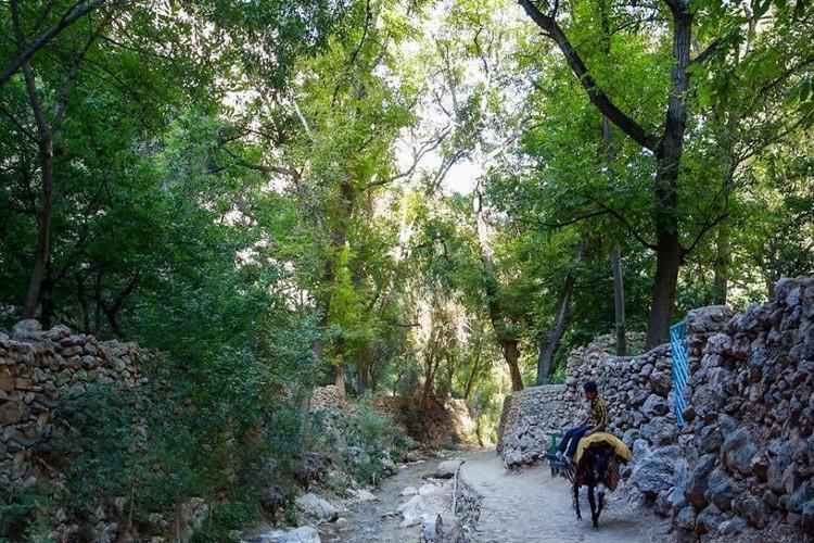 عکس روستای جاغرق مشهد