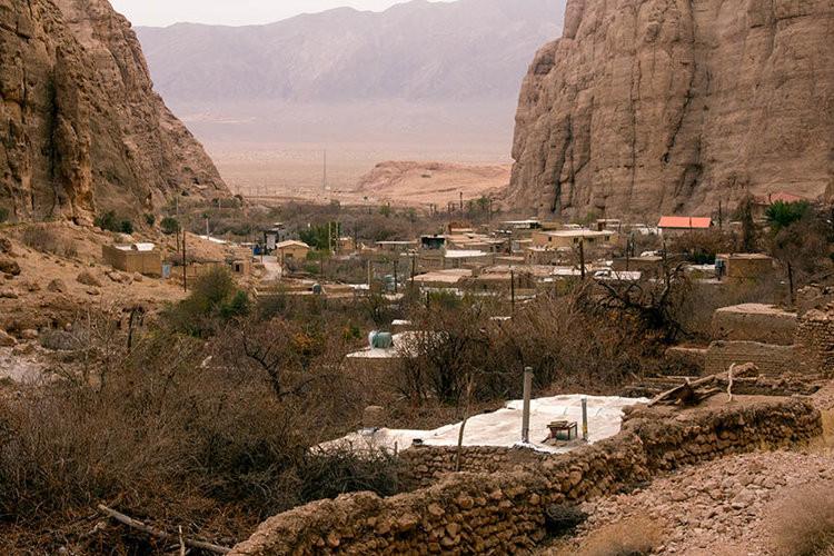عکس روستای قطرم یزد
