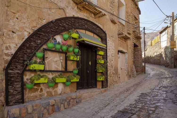 عکس روستای قلات شیراز