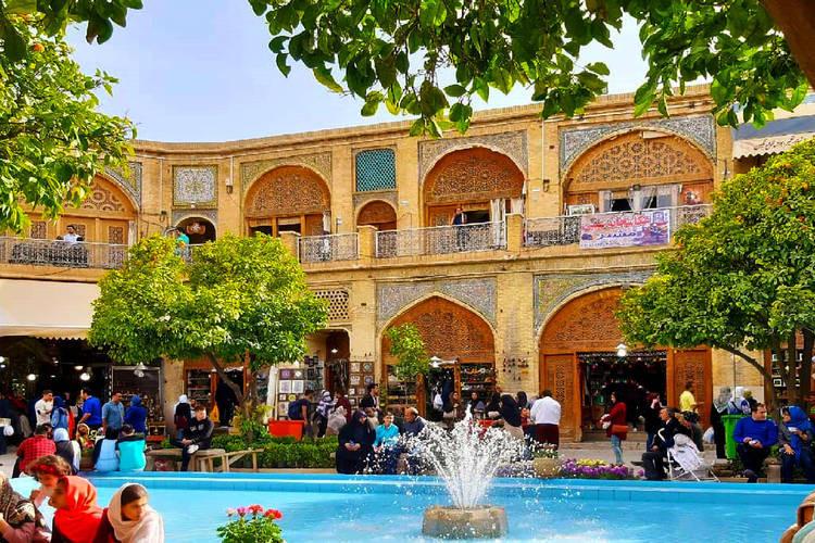 عکس سرای مشیر شیراز
