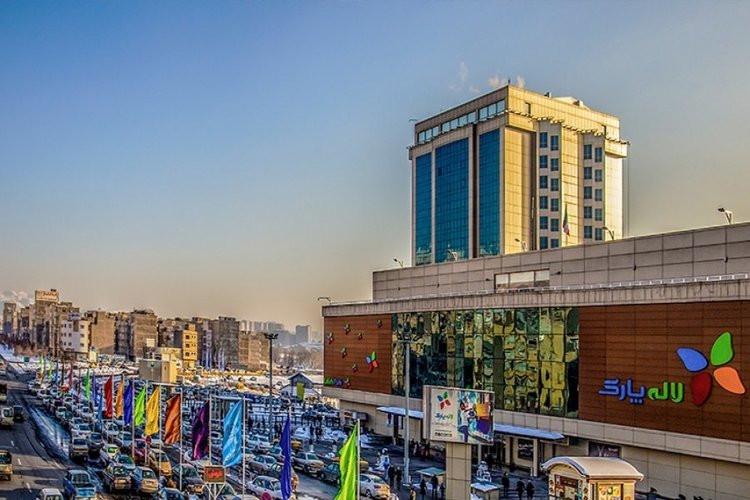 عکس مجتمع تجاری لاله پارک تبریز