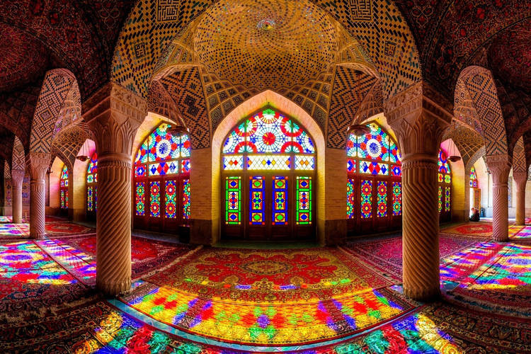 عکس مسجد نصیر الملک شیراز