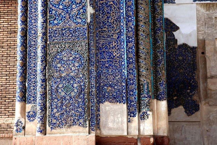 عکس مسجد کبود تبریز