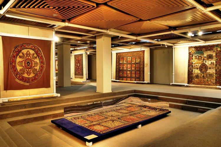 عکس موزه فرش تهران