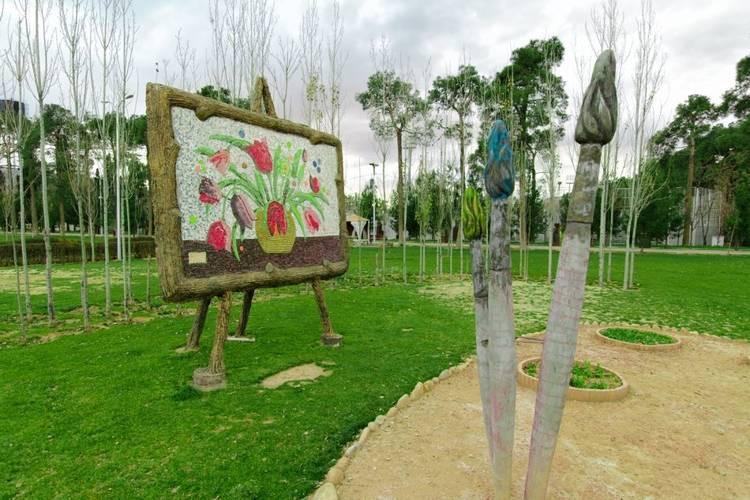 عکس پارک جنت شیراز