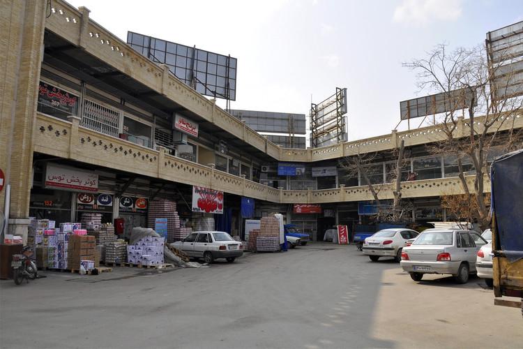 عکس بازار حافظ مشهد