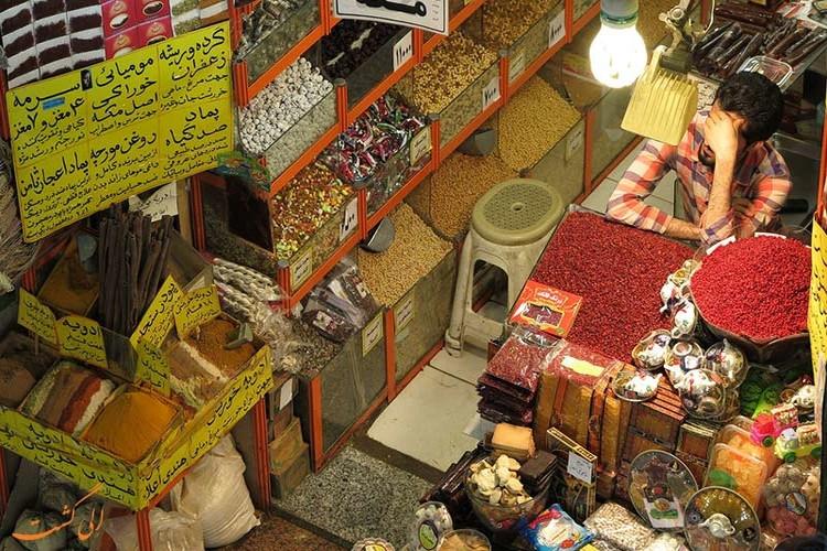عکس بازار رضا مشهد