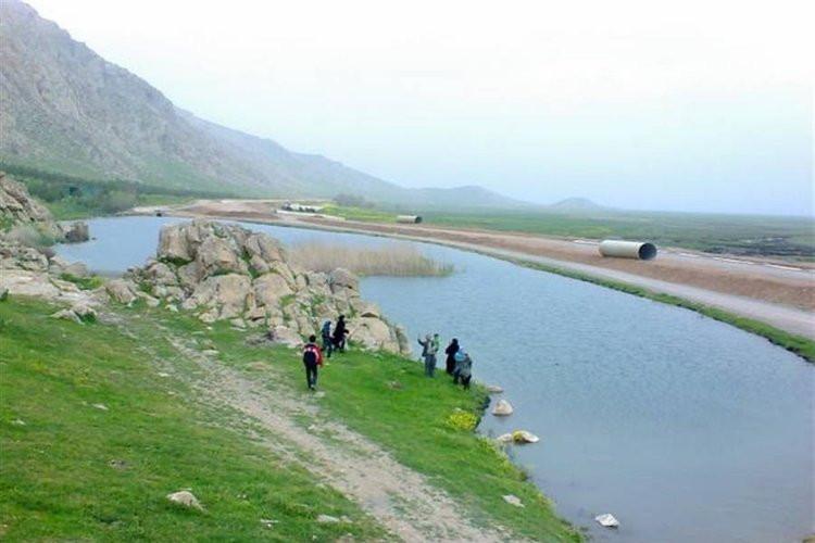 عکس تالاب هشیلان کرمانشاه