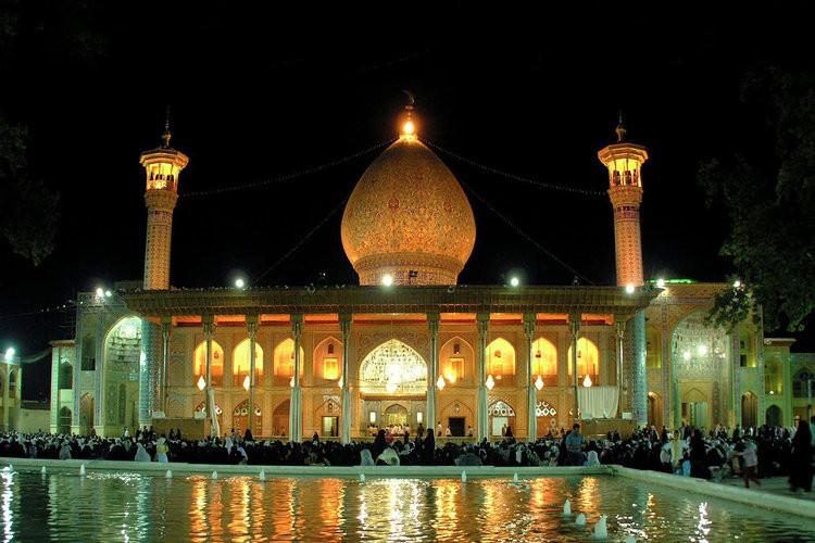 عکس شاه چراغ شیراز - بارگاه مطهر احمد بن موسی(ع)